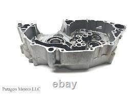 01#2 01 02 Yamaha WR250F WR WRF 250F LEFT Side Engine Case Crankcase Motor
