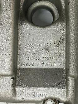 03-2006 porsche cayenne turbo S 4.5l v8 engine driver side cylinder valve cover