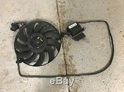 04 05 06 VW PHAETON engine radiator cooling fan motor module left 3D0959453F OEM
