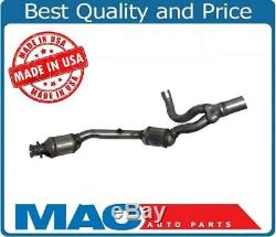 07-09 Jeep Wrangler 3.8 Engine Drivers Side Dual Catalytic Converter Made in USA