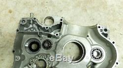 14 Suzuki DR650 SE DR 650 left side engine crank case cases block bottom end