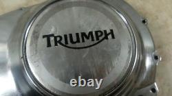 14 Triumph Bonneville America 790 800 Left Side Engine Motor Cover