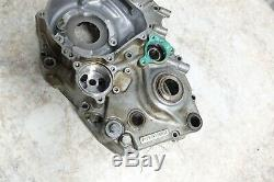 17 KTM 450 XC-F XC F left side engine crank case block bottom end