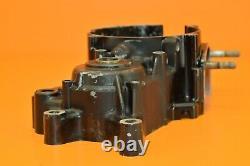 1984 84 CR500 CR 500 Engine Motor Bottom End Crankcases Crankcase Left Side