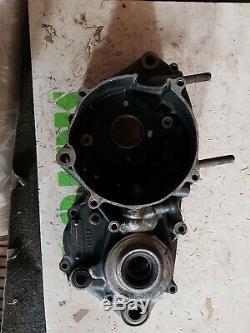 1989 89 Honda CR 250 CR250 engine left Side Crankcase Crank Case half bottom end