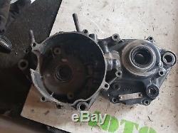 1993 93 Honda CR 250 CR250 engine left Side Crankcase Crank Case half bottom end