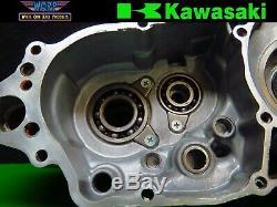 1998 Kawasaki KX250 Left Side Crankcase Crank Case Bottom End Engine 97-99