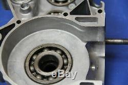 1999 98-99 CR250R CR250 Left Side Crankcase Engine Half Carter Motor Crank Case