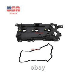2 Engine Valve Cover withGasket Right & Left Side Fit Infinity Nissan code VQ35HR