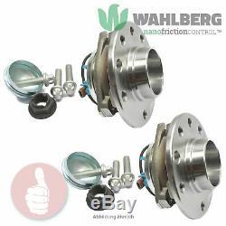 2 x Original WAHLBERG Radlager Radlagersatz WB96349 Vorderachse