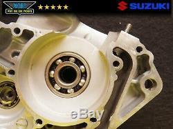 2002 Suzuki RM125 Left Side Crank Case Bottom End Crankcase Engine 2001-2006