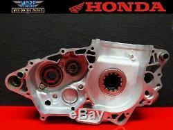 2004 Honda CRF450 Left Side Crankcase Engine Bottom End Motor Crank Case Half