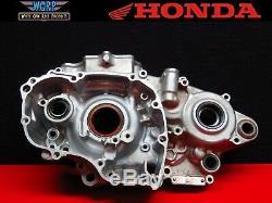 2006 Honda CRF450 Left Side Crankcase Crank Case Bottom End Engine 11200-MEN-850