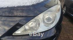 2006 Peugeot 307cc 2.0 Rfj Ew10a Convertible Front Left Nsf Headlight New Shape