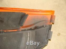 2007-11 ARCTIC CAT F1000 SNOPRO EFI left side engine cover body panel orange f6