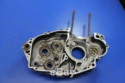 2008 08-10 Husqvarna 450SMR SM450R Left Side Engine Crankcase Half Motor Block