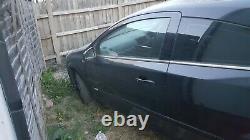 2008 VAUXHALL ASTRA DESIGN 3 DOOR COUPE 1.6i BLACK Z20R PASSENGER LEFT BARE DOOR