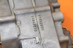 2009 07-09 YZ250F OEM Engine Bottom End Crankcase Set Left / Right Side Block
