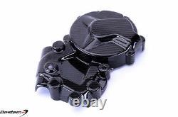 2009-2018 BMW S1000RR Clutch Engine Cover Left Side Twill Carbon Fiber 2017 2016