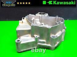 2009 Kawasaki KX250F Left Side Crank Case Bottom End Engine Motor Carter Half