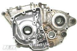 2013 Suzuki RMZ250 Left Side Engine Case Half, Motor Case, OEM, 13 RMZ 250 B4059