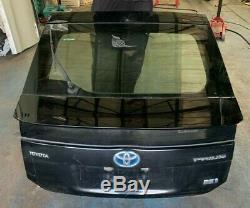 2013 Toyota Prius 1.8 Hybrid Petrol Rear Tailgate Bootlid Windscreen Black