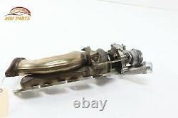 2014 2017 MERCEDES S63 W222 ENGINE LEFT SIDE TURBO TURBOCHARGER With PIPE OEM