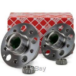 2x FEBI Radnabe Radlager für MERCEDES CLS C219 E-KLASSE W211 S211 SL R230 vorne