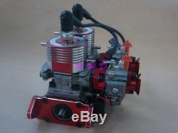 58CC Inline Twin Left Side Exhaust Marine Engine For RC Boat QJ ZENOAH RCMK
