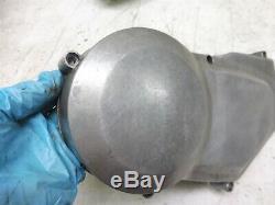 75 AMF HARLEY SS250 ENGINE MISC SM340 lh left side sprocket stator cover