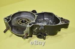 80-81 1981 YZ465 YZ 465 Left Side Crank Case Crankcase Engine Motor Bottom End