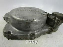 89 04 Kawasaki KX500 KX 500 Clutch Cover Side Case Engine Motor