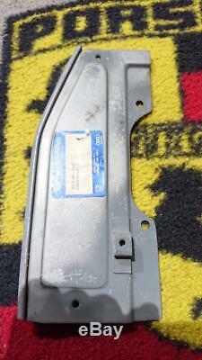 A pair of Stoddard Porsche 356 left and right hand side engine cover plates