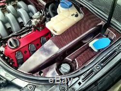 AUDI A4 B7 RS4, S4 New Genuine carbon Fibre Engine Compartment Cover Left Side