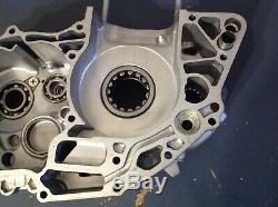 (B) 2006 06 Honda CRF250R CRF 250 R left side center case engine 06 07 OEM