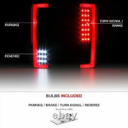 BLACK-OUT 2017-2019 Ford F-250 F-350 Pickup Light Bar LED Reverse Tail Lights
