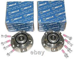 BMW 5 5er E60 E61 2 x MEYLE RADLAGER MIT NABE VORNE 3003121106