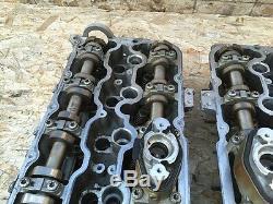 Bmw F02 750li N63 4.4l Twin Turbo Turbocharged Engine Cylinder Head Heads Oem
