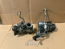 Bmw Oem 550 650 750 X5 X6 Front Engine Motor Turbo Charger Turbocharger Set N63