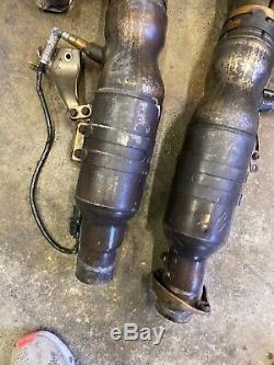 Bmw Oem E60 E61 E63 E64 M5 L R Side Engine Catalytic Converter Manifolds S85