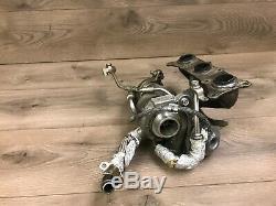 Bmw Oem E90 E91 E92 E93 335 Engine Motor Twin Turbo Charger Charge N54 2007-2010
