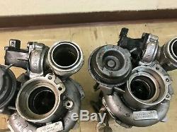 Bmw Oem F01 F02 F10 750 550 650 X5 X6 Engine Twin Turbo Charger Charge Set N63