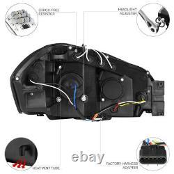Chrome Halo Angel Eye LED Projector Headlight 06-2013 Chevy Impala LT/LS/LTZ/SS