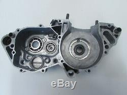 Crank Case Engine Left Motor CR250R 98- 99 1999 1998 Honda 11200-KZ3-409 Side