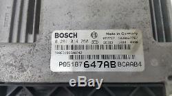 Dodge Caliber 2006 2011 2.0 CRD Diesel ECD Engine ECU
