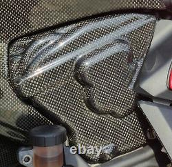 Ducati Panigale 899 959 V2 Carbon Fiber Engine Cover Side Fairing Panels Set