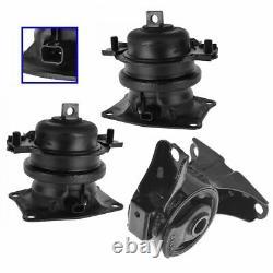 Engine Motor Mount Front Rear Kit Set of 3 for Honda Odyssey 3.5L Touring EX-L