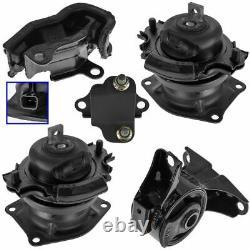 Engine & Transmission Mount Kit Set of 5 for 05-06 Honda Odyssey EX-L Touring