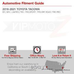 FULL LED For 16-21 Toyota Tacoma Neon Tube Parking LED Brake Tail Lights Lamps