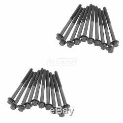 Fel-Pro Upper Engine Gasket Set Head Gaskets & Bolts for 06-10 Ford 6.0L Diesel